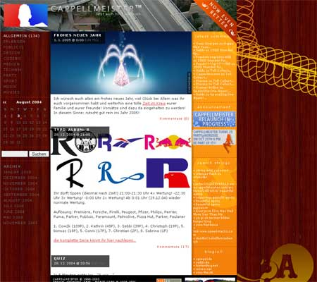 Cappellmeister.com Version 4.8