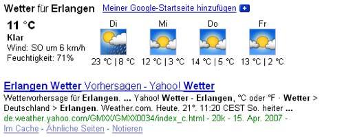 Wetter Erlangen