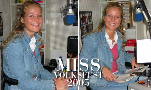 Miss Volksfest 2005
