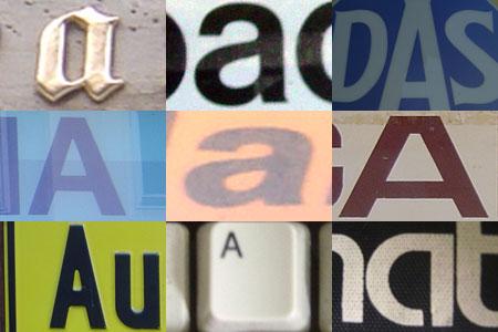 A - 9 Varianten