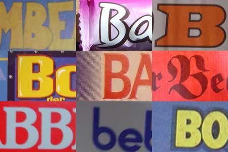 Typo-Album: B