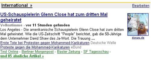 Glenn Close heiratet zum dritten Mal