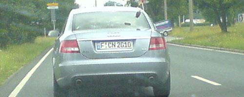 Krasser Fan des 1. FCN